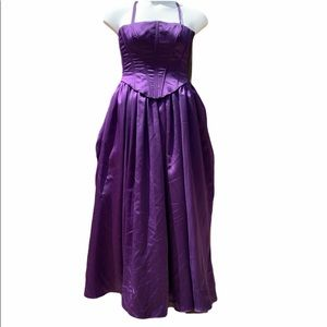 Formal Deep purple ball gown size Xs